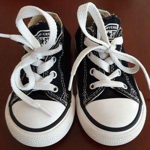 Kids Black Converse